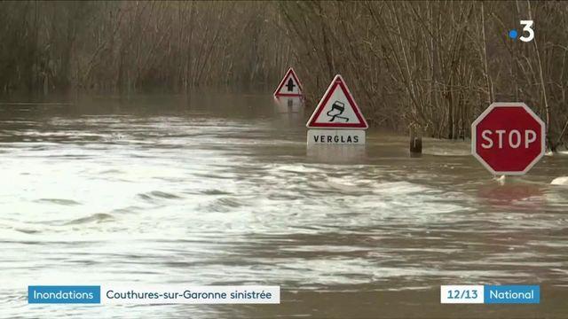 Inondations : une commune du Lot-et-Garonne transformée en île