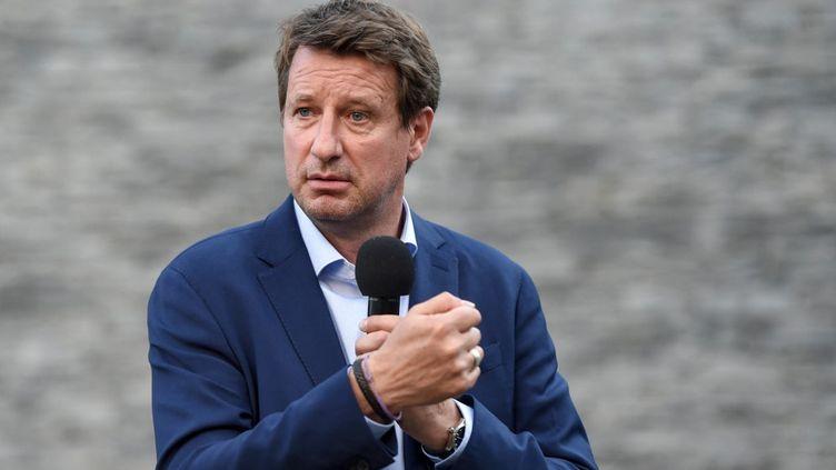 Yannick Jadot en meetingen juin 2021. (SEBASTIEN SALOM-GOMIS / AFP)