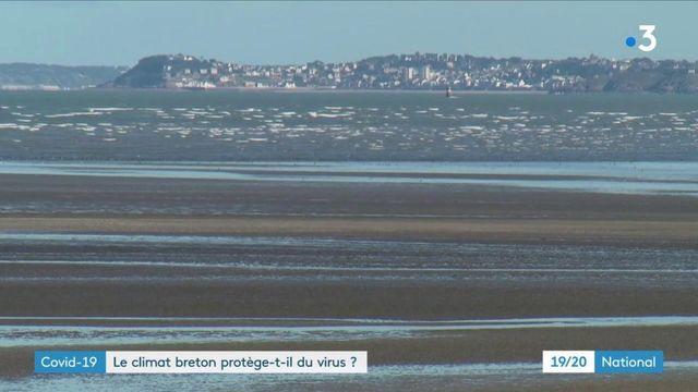 Covid-19 : la Bretagne, beaucoup moins touchée que le reste de la France
