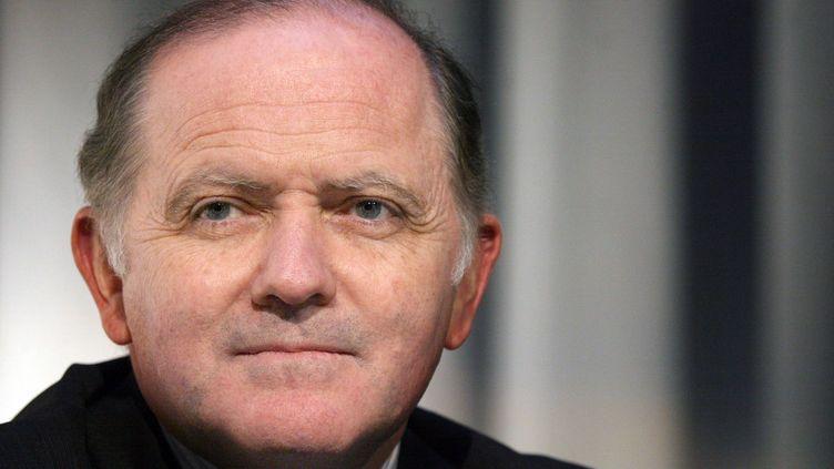 François Goulard, président du conseil départemental du Morbihan. (JOEL SAGET / AFP)