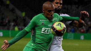 Saint-Etienne et Bordeaux face à face dans un duel de mal classés samedi 18 septembre 2021. (JEAN-PHILIPPE KSIAZEK / AFP)