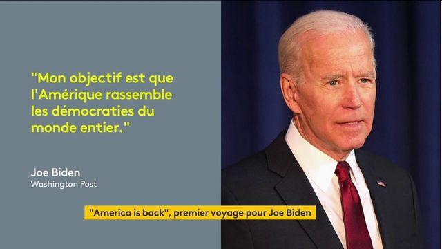 Sommet du G7 : pour son premier voyage officiel, Joe Biden veut replacer les États-Unis au cœur du jeu