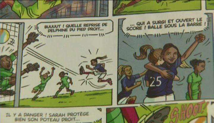 Team d'Attaque, Tome 1 : Sauvé par le Gone ! de Cascarino et Skiav (D. Pajonk  / France Télévisions)