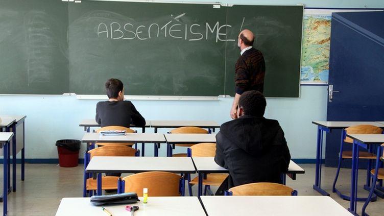 (Le taux d'absentéisme en lycée professionnel est deux fois plus important qu'en lycée général. © MaxPPP)