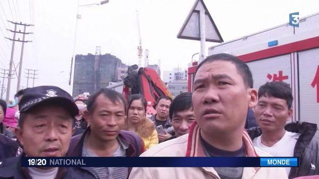 Chine : plus de 80 personnes portées disparues après un glissement de terrain