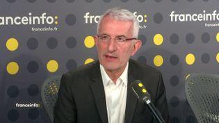 Guillaume Pepy, le 11 mai 2018. (RADIO FRANCE / FRANCE INFO)