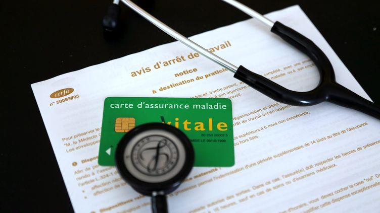Les arrêts maladie ont augmenté de 8% en janvier et de 5% en un an, selon la CGT. (MAXPPP)