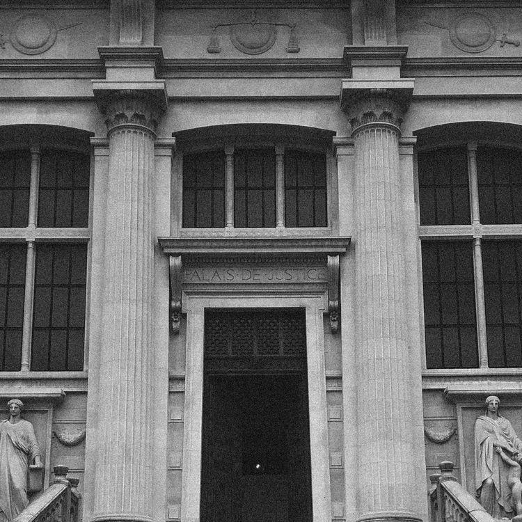 Le Palais de justice de Paris, où se tient le procès des attentats du 13-Novembre. (DAVID FRITZ-GOEPPINGER POUR FRANCEINFO)