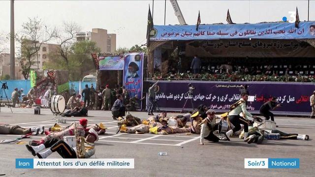 Iran :  le gouvernement pointe des forces étrangères après l'attentat contre un défilé militaire