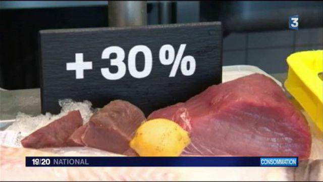 Consommation : les cours du poisson explosent
