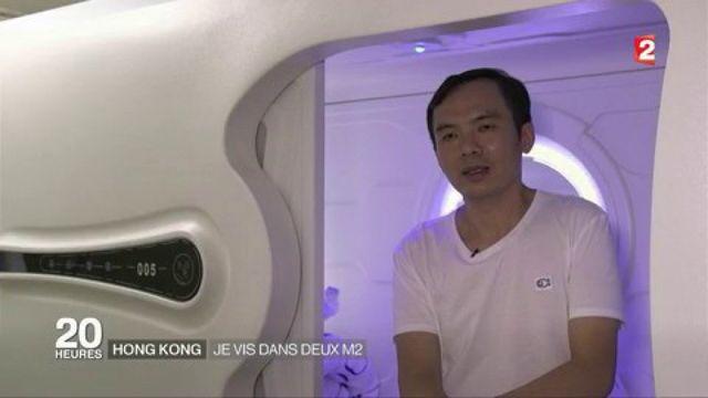 """Hong Kong : """"Je vis dans deux mètres carrés"""""""
