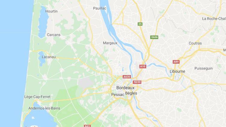 Une mère de famille a été placée en garde à vue, le 26 mars 2018 à Bordeaux (Gironde), pour avoir noyé sa fille. (GOOGLE MAPS)