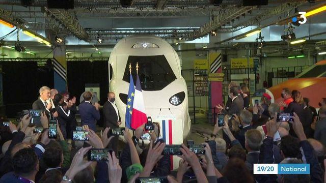 TGV : la mythique de la rame 16 de nouveau à quai pour fêter les 40 ans