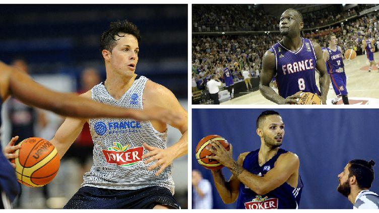 Thomas Heurtel, Charles Kahudi et Evan Fournier sont en ballottage pour les deux dernières places chez les Bleus