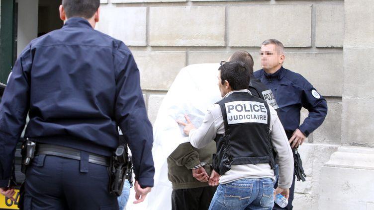 Trois personnes placées en garde à vue depuis mercredi 3 avril dans le cadre du meurtre d'Alexandre Junca présentées devant la juge d'instruction au tribunal de Pau (MAXPPP)