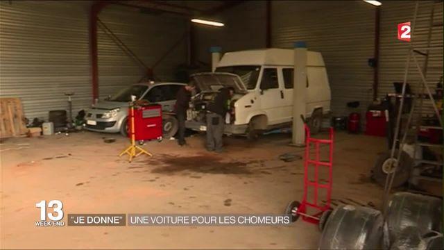 Gers : une association retape les voitures des chômeurs