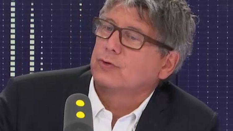 Eric Coquerel, député La France insoumise. (RADIO FRANCE / FRANCEINFO)