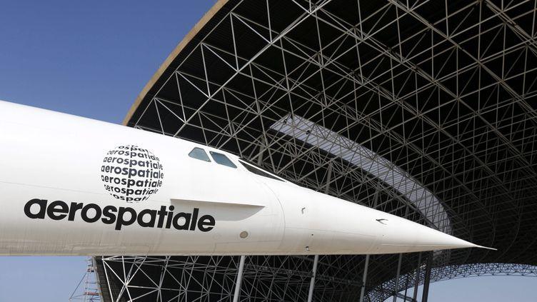 (Un exemplaire du Concorde transféré au musée de Blagnac, le 14 mars 2014 ©maxPPP)