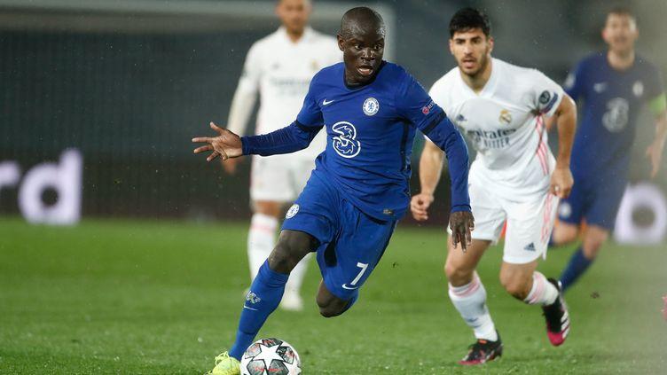N'Golo Kanté a complètement éteint le Real Madrid en demi-finales de la Ligue des champions. (OSCAR J. BARROSO / ANADOLU AGENCY)
