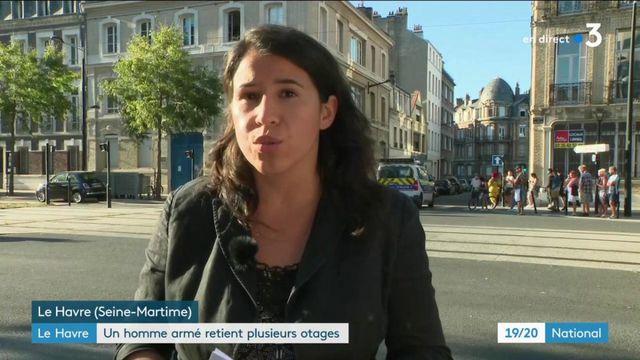 Le Havre : un homme armé retient quatre personnes en otage