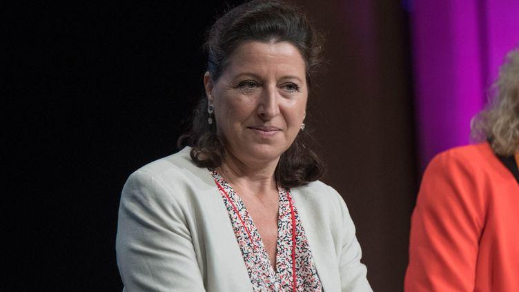 La ministre de la Santé, Agnès Buzyn, le 15 octobre 2018 à Nantes (Loire-Atlantique). (ESTELLE RUIZ / AFP)