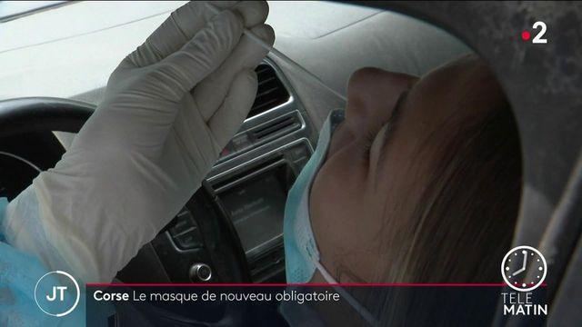 Covid-19 : les tests de dépistage sont en hausse en Corse