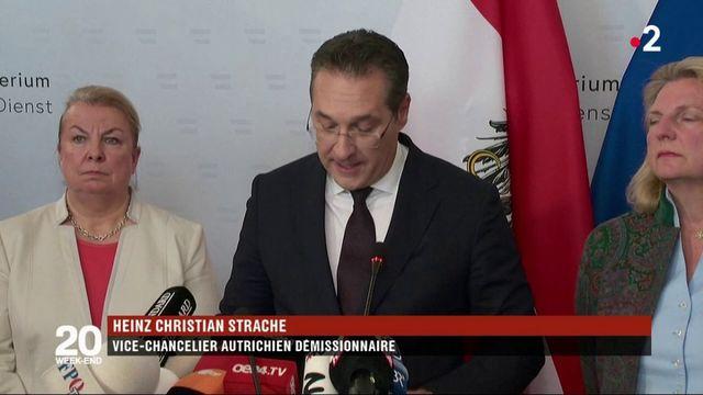 Autriche : un scandale fait tomber le vice-chancelier