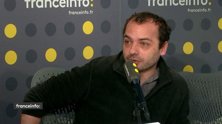 François Lambert, invité de franceinfo, lundi 24 juin 2019. (FRANCEINFO)