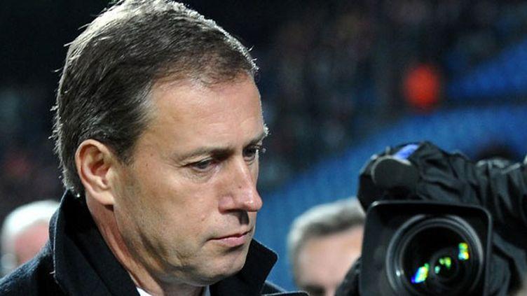 L'entraîneur français Alain Perrin
