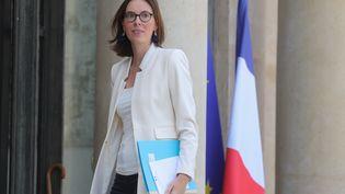Amélie de Montchalin, le 7 juillet 2020, à l'Elysée, à Paris. (LUDOVIC MARIN / AFP)