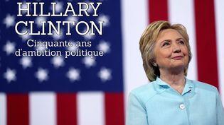 Hillary Clinton, candidate à la Maison Blanche, lors d'un meeting à Miami (Etats-Unis), le 23 juillet 2016. (JUSTIN SULLIVAN / GETTY IMAGES NORTH AMERICA / AFP)