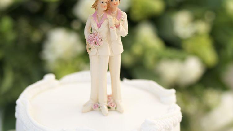 Le gouvernement britannique s'est dit favorable au mariage homosexuel, le 11 décembre 2012. (BOB THOMAS / GETTY IMAGES)