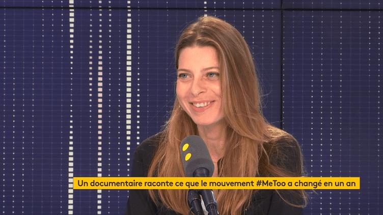 """La réalisatrice Clarisse Verrier voitdans #BalanceTonPorc une forme de délation """"dans la forme extrêmement dommageable"""". (FRANCEINFO / RADIOFRANCE)"""