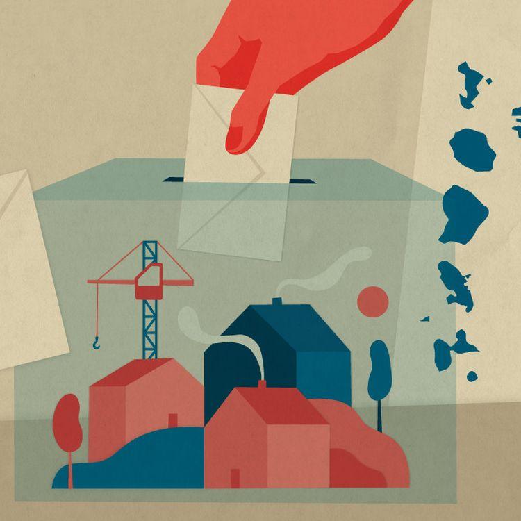 Les élections régionales et départementalesdoivent se tenir en France à la fin du printemps, les 20et 27juin 2021. (ELLEN LOZON / FRANCEINFO)