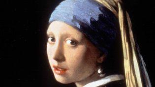 """""""La Jeune fille à la perle"""" de Johannes Vermeer (1632-1675) (détail)  (SIPA)"""