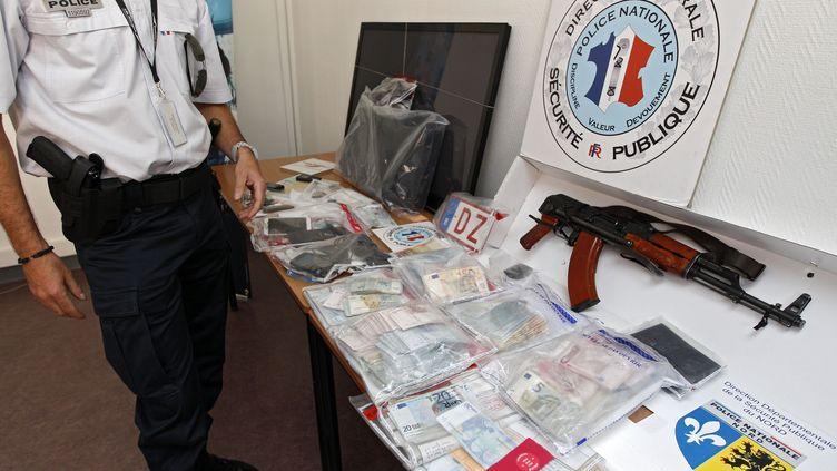 Untrafic d'héroïne démantelé dans le quartier de la Bourgogne, à Tourcoing (Nord), le 11 juin 2014. (M.LIBERT/20 MINUTES/SIPA)