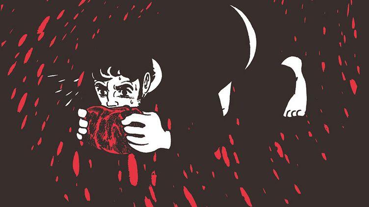 Couverture de Kirihito de Osamu Tezuka.Edition Delcourt (Couverture de Kirihito de Osamu Tezuka.Edition Delcourt)