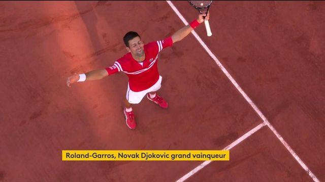 Roland-Garros : Novak Djokovic, grand vainqueur