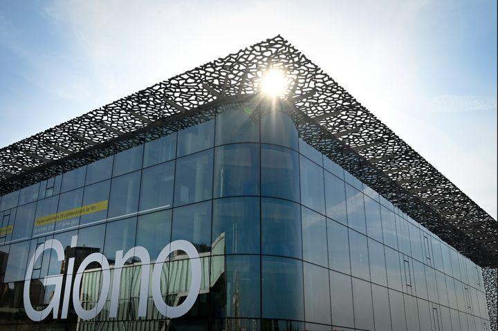 Exposition Giono au MucCem à Marseille, octobre 2019 (GERARD JULIEN / AFP)