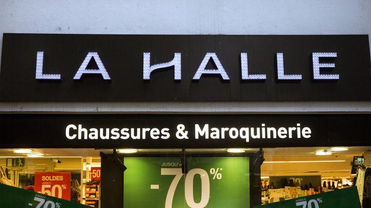 Un magasin La Halle, à Paris. (MAXPPP)