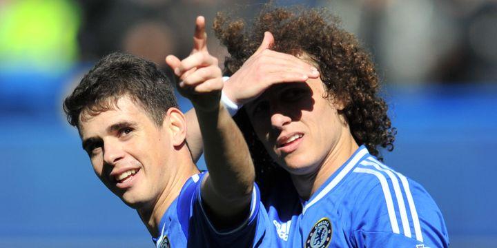 Oscar et David Luiz visent les sommets de la PL