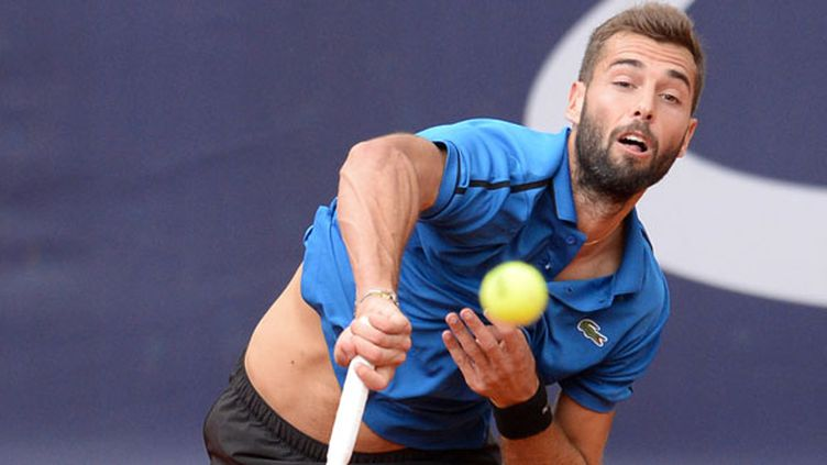 Le tennisman français Benoit Paire