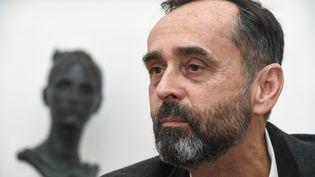 Robert Ménard, le maire de Béziers, le 9 mars 2018. (PASCAL GUYOT / AFP)