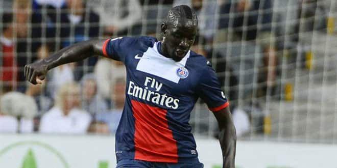 Le défenseur parisien Mamadou Sakho