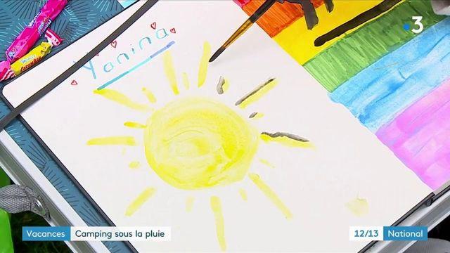 Vacances : pour les campeurs, le soleil est aux abonnés absents