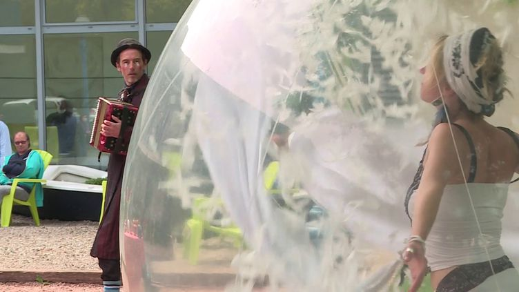 Une bulle d'air aufoyer ADAPEI de Rugles (France 3 Normandie / B. Belamri)