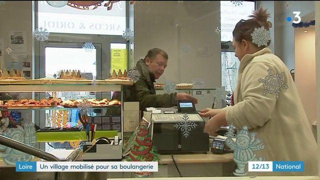 Loire : un village mobilisé pour sauver sa boulangerie
