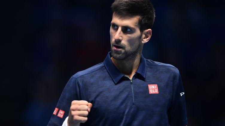 La joie du Serbe, Novak Djokovic. (GLYN KIRK / AFP)