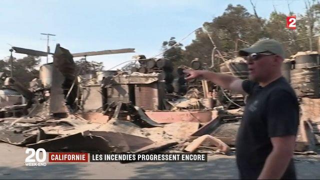Californie : l'incendie a ravagé 77 000 hectare