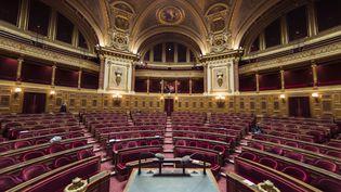 La Commission d'enquête du Sénat reprend ses travaux, mardi 22 septembre, avec les auditions des anciens ministres Xavier Bertrand et Christophe Castaner. (LIONEL BONAVENTURE / AFP)